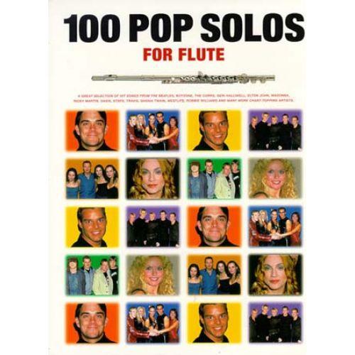 MUSIC SALES 100 POP SOLOS - FLUTE