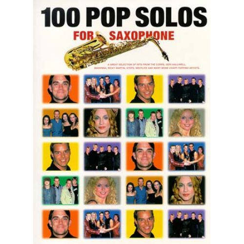 WISE PUBLICATIONS 100 POP SOLOS - SAXOPHONE