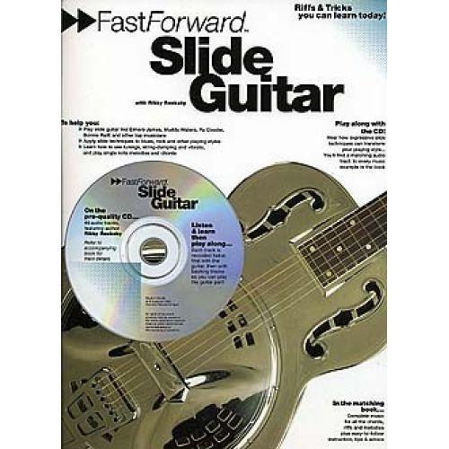 MUSIC SALES FAST FORWARD SLIDE GUITAR + CD - GUITAR