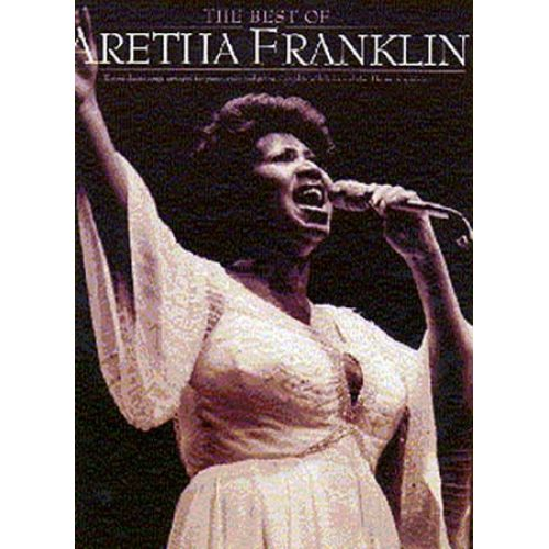 MUSIC SALES FRANKLIN ARETHA - BEST OF - PVG