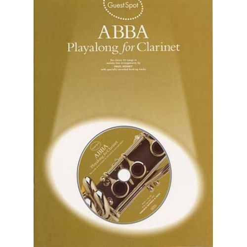 WISE PUBLICATIONS ABBA - GUEST SPOT + CD - CLARINETTE