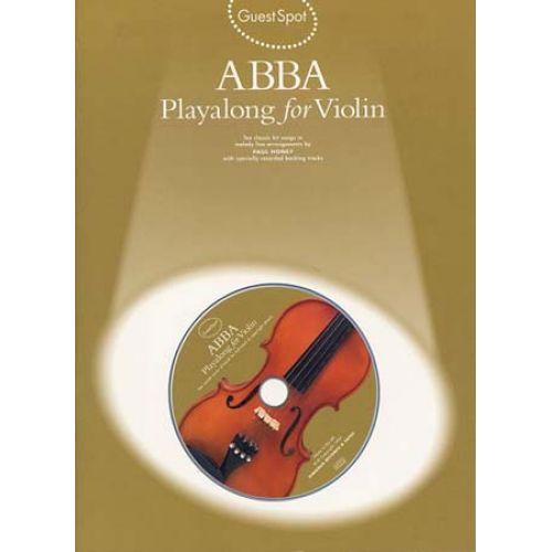 WISE PUBLICATIONS GUEST SPOT ABBA - VIOLON + CD