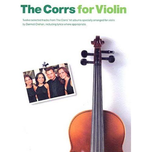 MUSIC SALES CORRS - VIOLIN