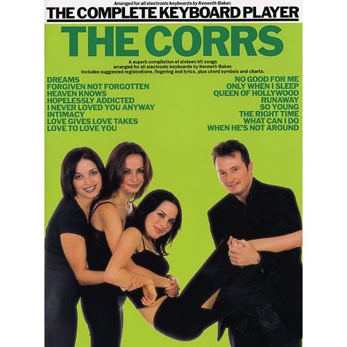 WISE PUBLICATIONS KENNETH BAKER - COMPLETE KEYBOARD PLAYER - THE CORRS - KEYBOARD