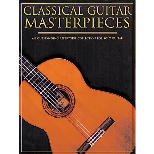 MUSIC SALES CLASSICAL GUITAR MASTERPIECES - CLASSICAL GUITAR