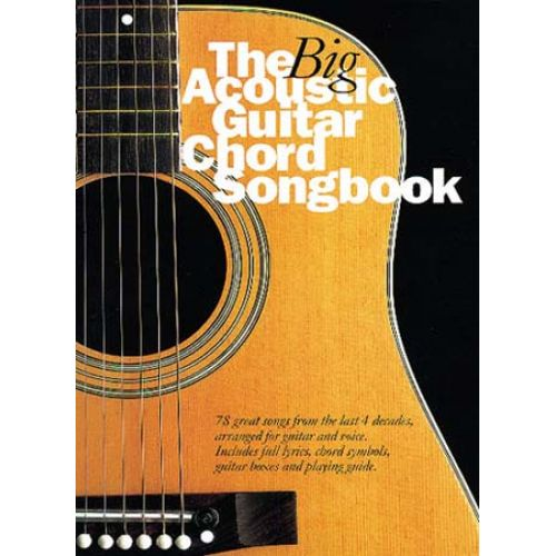 WISE PUBLICATIONS CRISPIN NICK - THE BIG ACOUSTIC GUITAR CHORD SONGBOOK - LYRICS AND CHORDS