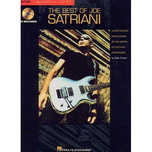 HAL LEONARD THE BEST OF JOE SATRIANI + CD - 0 - GUITAR TAB