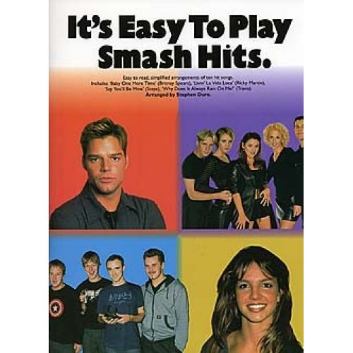 WISE PUBLICATIONS ITS EASY TO PLAY SMASH HITS - PVG