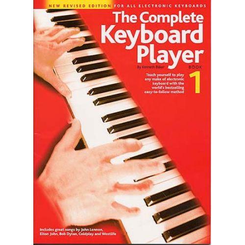 WISE PUBLICATIONS BAKER K - COMPLETE KEYBOARD PLAYER - BK. 1 - KEYBOARD