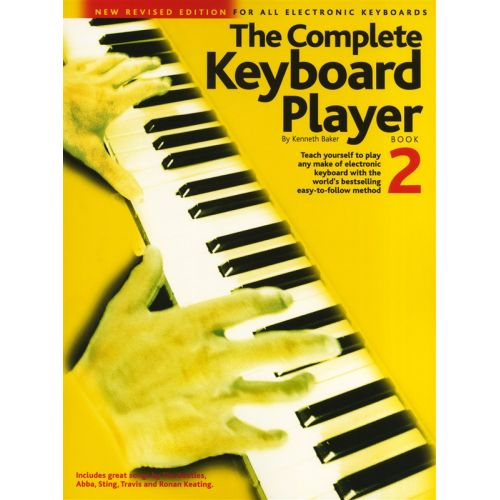 WISE PUBLICATIONS BAKER KENNETH - COMPLETE KEYBOARD PLAYER BOOK 2 - BOOK 2 - KEYBOARD