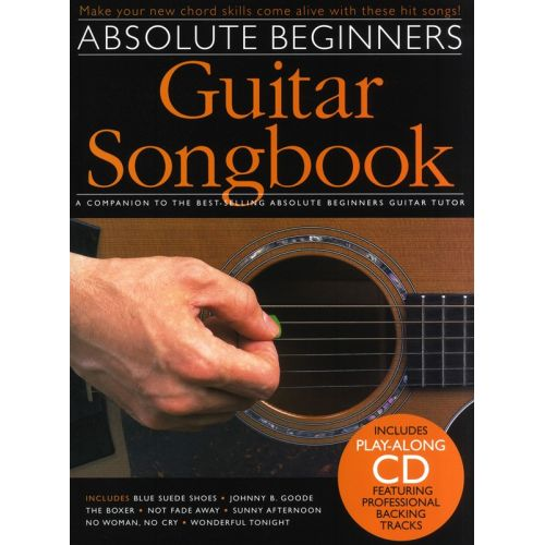 WISE PUBLICATIONS ABSOLUTE BEGINNERS SONGBOOK - PT. 1 - GUITAR
