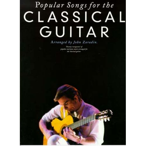 MUSIC SALES POPULAR SONGS FOR CLASSICAL GUITAR