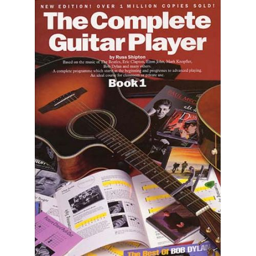 WISE PUBLICATIONS SHIPTON RUSS - COMPLETE GUITAR PLAYER - BK. 1 - GUITAR
