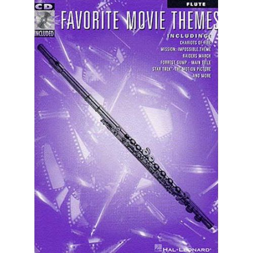 HAL LEONARD FAVORITE MOVIE THEMES + CD - FLUTE