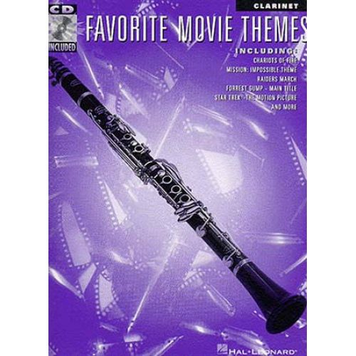 HAL LEONARD GREEN HENRY - FAVORITE MOVIE THEMES - CLARINET