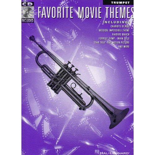 HAL LEONARD FAVORITE MOVIE THEMES + AUDIO ONLINE - TRUMPET/TENOR SAX