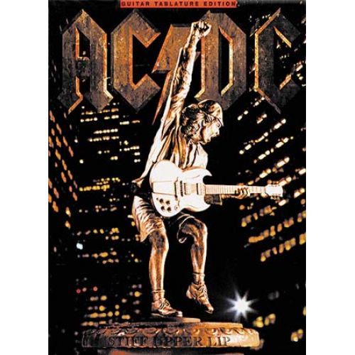 MUSIC SALES AC/DC - STIFF UPPER LIP - GUITAR TAB