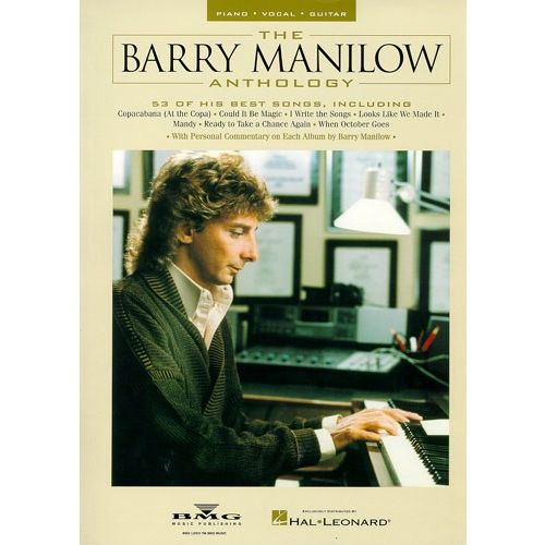MUSIC SALES THE BARRY MANILOW ANTHOLOGY - PVG