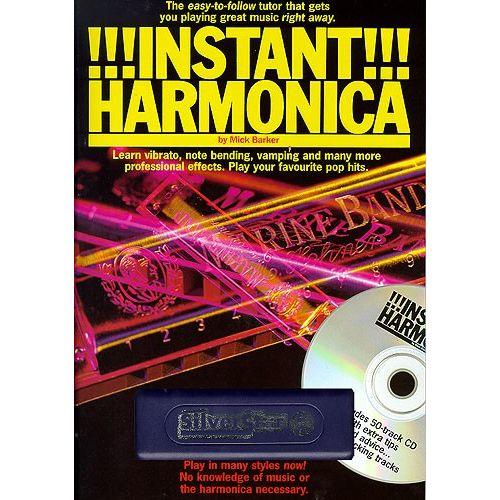 MUSIC SALES MICK BARKER - INSTANT HARMONICA - HARMONICA