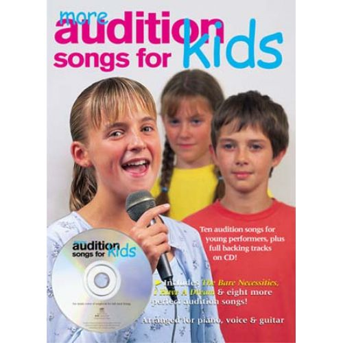 WISE PUBLICATIONS MORE AUDITION SONGS FOR KIDS - PVG