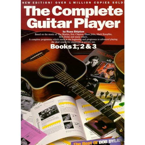WISE PUBLICATIONS SHIPTON RUSS - THE COMPLETE GUITAR PLAYER - GUITAR