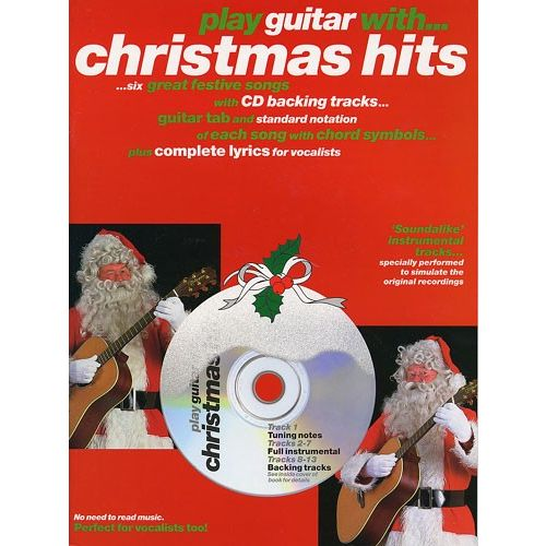 WISE PUBLICATIONS PLAY GUITAR WITH CHRISTMAS HITS - MELODY LINE, LYRICS AND CHORDS