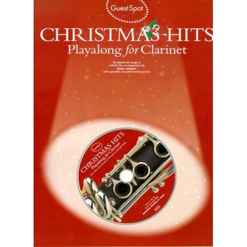 WISE PUBLICATIONS GUEST SPOT - CHRISTMAS HITS PLAYALONG + CD - CLARINET