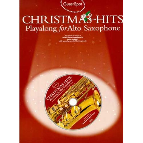 WISE PUBLICATIONS GUEST SPOT - CHRISTMAS + CD - SAXOPHONE ALTO