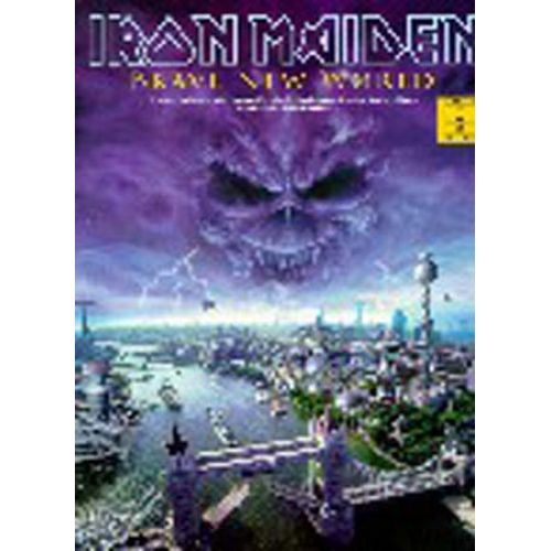 MUSIC SALES IRON MAIDEN - BRAVE NEW WORLD - GUITAR TAB