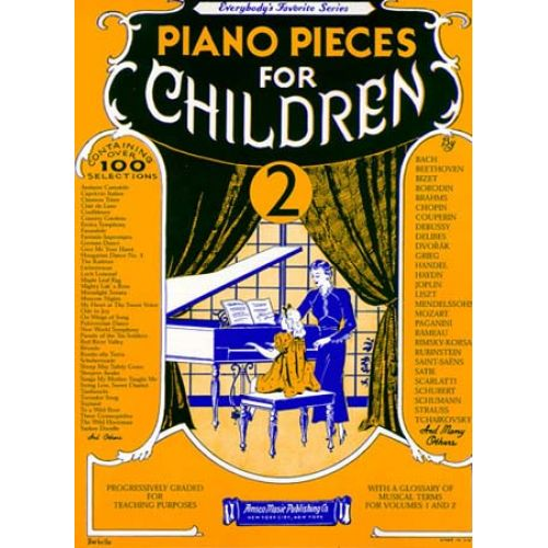 MUSIC SALES PIANO PIECES FOR CHILDREN VOLUME 2 - PIANO SOLO