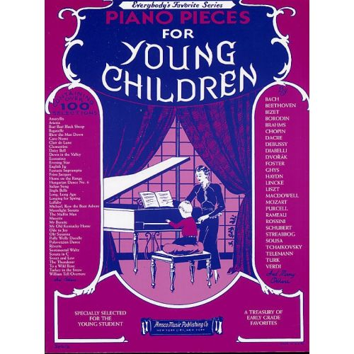 WISE PUBLICATIONS PIANO PIECES FOR YOUNG CHILDREN - PIANO SOLO