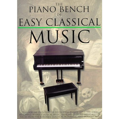 MUSIC SALES APPLEBY AMY - THE PIANO BENCH OF EASY CLASSICAL MUSIC - PIANO SOLO