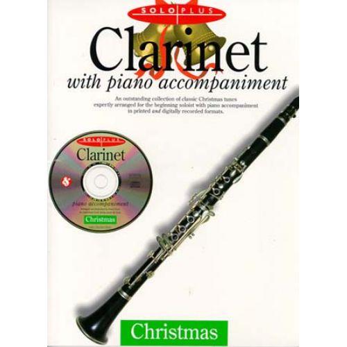 MUSIC SALES SOLO PLUS - CHRISTMAS CLARINET + CD