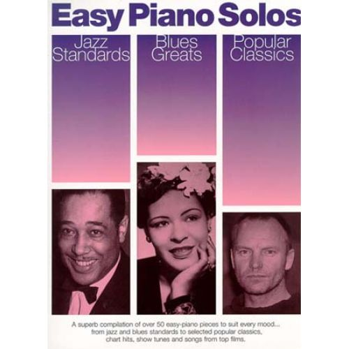 WISE PUBLICATIONS EASY PIANO SOLOS