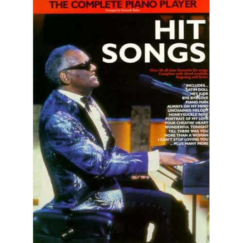 WISE PUBLICATIONS COMPLETE PIANO PLAYER HIT SONGS - PIANO SOLO