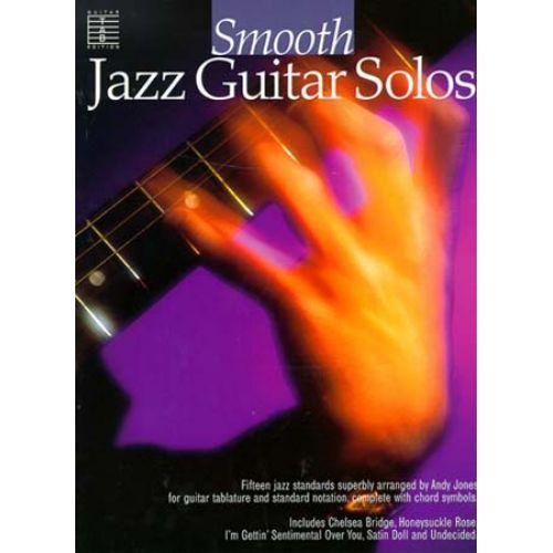 MUSIC SALES SMOOTH JAZZ - GUITAR TAB SOLOS