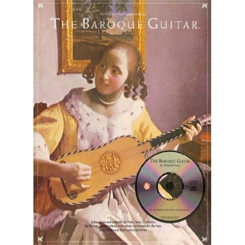 MUSIC SALES NOAD F. - BAROQUE GUITAR + CD
