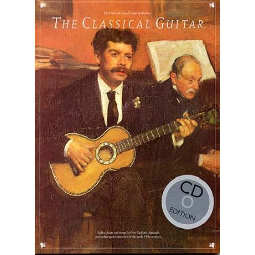 MUSIC SALES NOAD F. - CLASSICAL GUITAR + CD