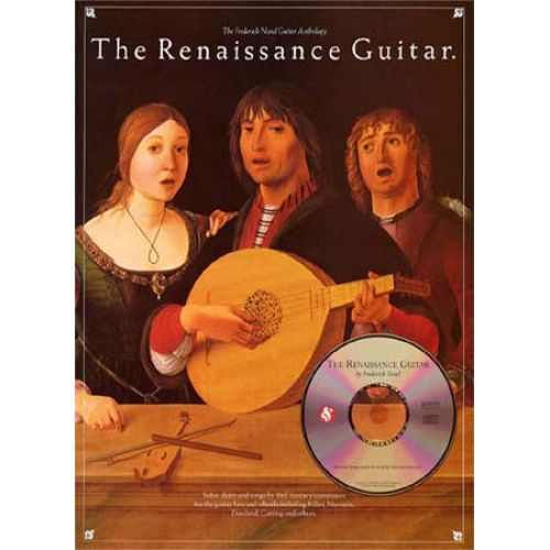 MUSIC SALES THE RENAISSANCE GUITAR + CD - GUITAR