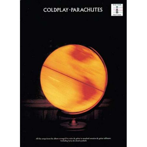 MUSIC SALES COLDPLAY - PARACHUTES - GUITAR TAB