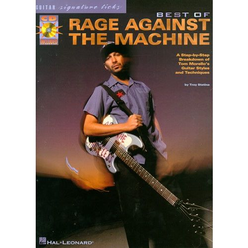 MUSIC SALES THE BEST OF RAGE AGAINST THE MACHINE GUITAR SIGNATURE LICKS TAB - GUITAR TAB