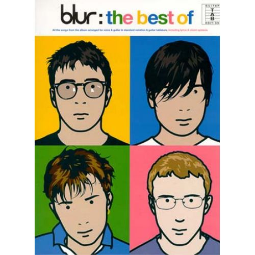 MUSIC SALES BLUR - BEST OF - GUITAR TAB