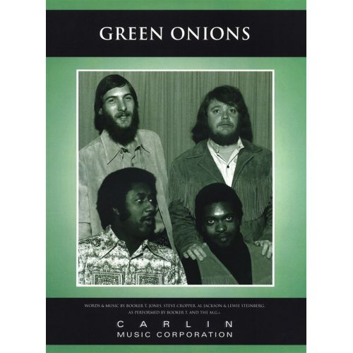MUSIC SALES BOOKER T AND THE MGS GREEN ONIONS PIANO AND GUITAR SHEET MUSIC - PVG