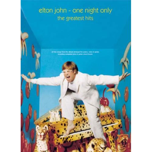 WISE PUBLICATIONS JOHN ELTON - ONE NIGHT ONLY - PVG