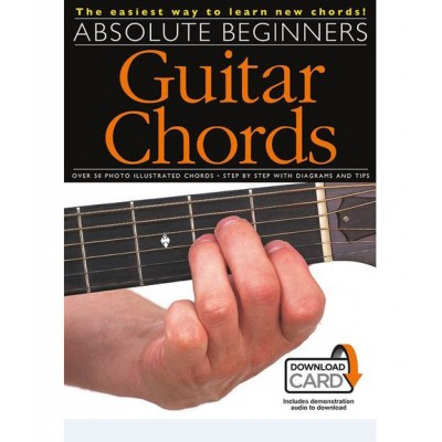 WISE PUBLICATIONS POTTER DAVE - ABSOLUTE BEGINNERS - GUITAR CHORDS - GUITAR