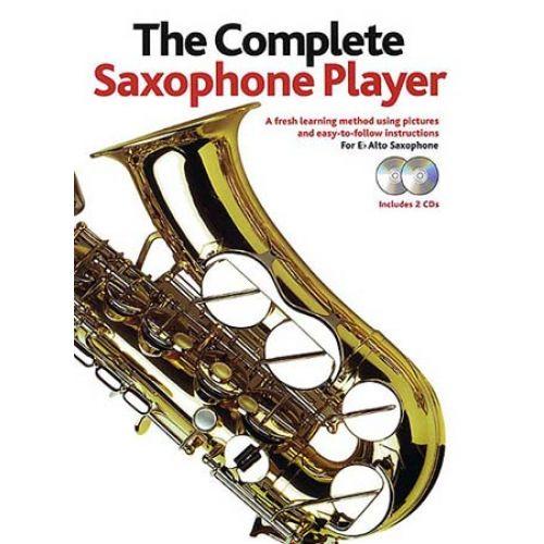 WISE PUBLICATIONS COMPLETE SAXOPHONE PLAYER + 2 CDs - SAXOPHONE ALTO