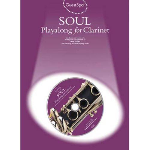 MUSIC SALES GUEST SPOT - SOUL - CLARINET