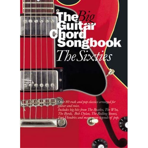 WISE PUBLICATIONS BIG GUITAR CHORD SONGBOOK - THE SIXTIES - 80 TITLES