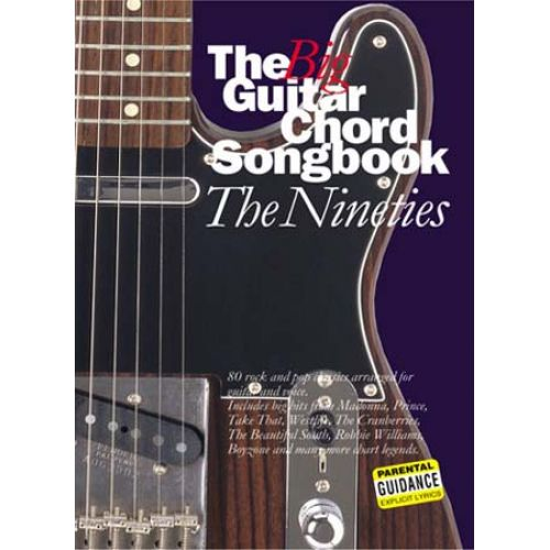 WISE PUBLICATIONS THE BIG GUITAR CHORD SONGBOOK - THE 90'S