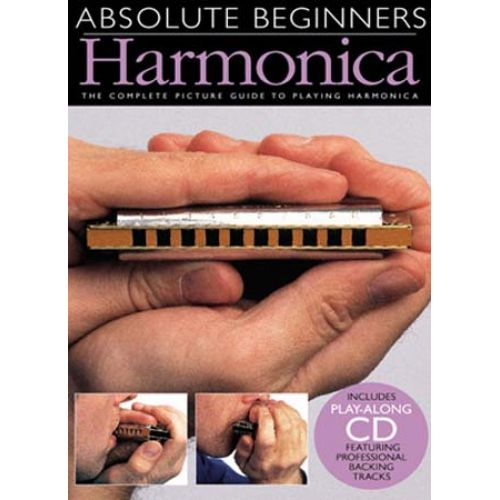 WISE PUBLICATIONS STEVE JENNINGS - HARMONICA - THE COMPLETE PICTURE GUIDE TO PLAYING HARMONICA - HARMONICA